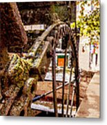 Watermill Metal Print