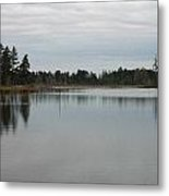 Water's Calm Metal Print