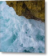 Waters Edge At Waianae Metal Print