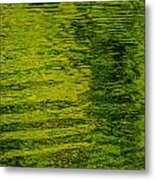 Water's Green Metal Print by Roxy Hurtubise