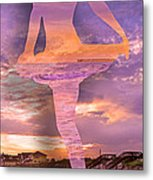 Waterspout Metal Print