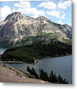 Waterton Lake Metal Print by Carolyn Ardolino