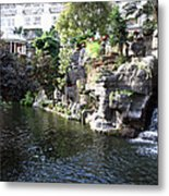 Waterway View Inside The Opryland Hotel In Nashville Tennessee In 2009 Metal Print