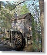 Waterwheel At Stone Mountain Metal Print