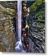 Watkins Glen Cascade Metal Print