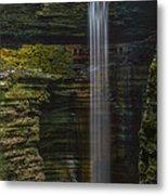 Watkins Glen Central Cascade Metal Print