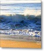 Wave Art Series 3 Metal Print