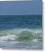 Wave At Seal Beach Metal Print