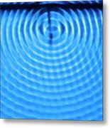 Wave Diffraction Metal Print