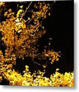 Wave Of Yellow Metal Print