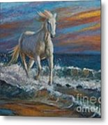 Wave Runner Metal Print