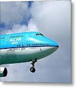 Wave To The Captain Metal Print