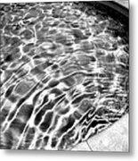 By The Pool Palm Springs Metal Print