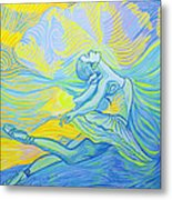 Waves And The Wind Metal Print
