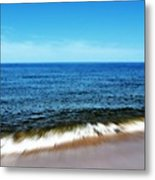 Waves In Motion Metal Print