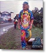 Wavy Gravy At Woodstock Metal Print by Chuck Spang