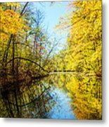 Waxen Autumn 1  Metal Print