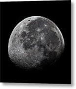 Waxing Moon Metal Print by Nila Newsom