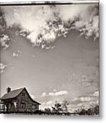 Way Up In The Clouds Metal Print