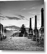 Waynesville Green Hill Cemetery Metal Print
