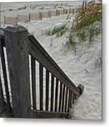 Ways To The Beach Series 4 Metal Print