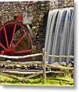 Wayside Grist Mill 4 Metal Print