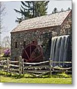 Wayside Grist Mill 5 Metal Print by Dennis Coates