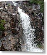 Wayside Waterfall I - Acadia Np Metal Print