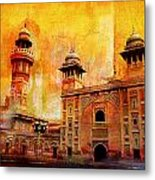 Wazir Khan Mosque Metal Print