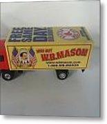 W.b. Mason Truck Metal Print
