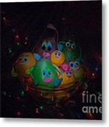 We Actually Are All In One Salad Bowl Metal Print
