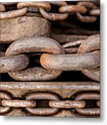 We Are All Linked Metal Print