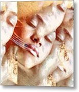 We Are The Dreaming I Metal Print by Gun Legler