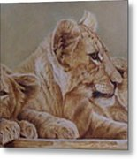 We Three Will Be Kings... Metal Print