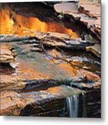 Weano Gorge - Karijini Np 2am-111671 Metal Print