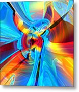 Weather Or Knot H 4  Metal Print