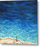 Weather To Fly Metal Print
