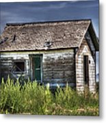 Weathered And Worn Well  Metal Print by Saija  Lehtonen