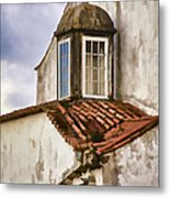Weathered Building Of Medieval Europe Metal Print