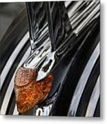 Weathered Chieftan Metal Print