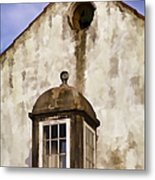 Weathered Home Of Old World Europe Metal Print