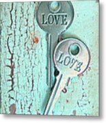 Weathered Love Metal Print