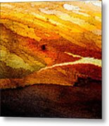 Weathered Wood Landscape Metal Print