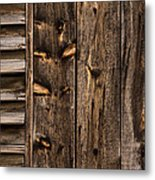 Weathered Wooden Abstracts - 3 Metal Print