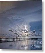 Weaver Pier Illuminated Metal Print