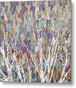 Web Of Branches Metal Print
