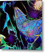 Webbed Galaxy Metal Print by Nan Bilden