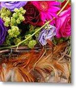 Wedding Bouquet Metal Print