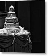 Wedding Cake Metal Print