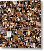 Wedding Collage Metal Print